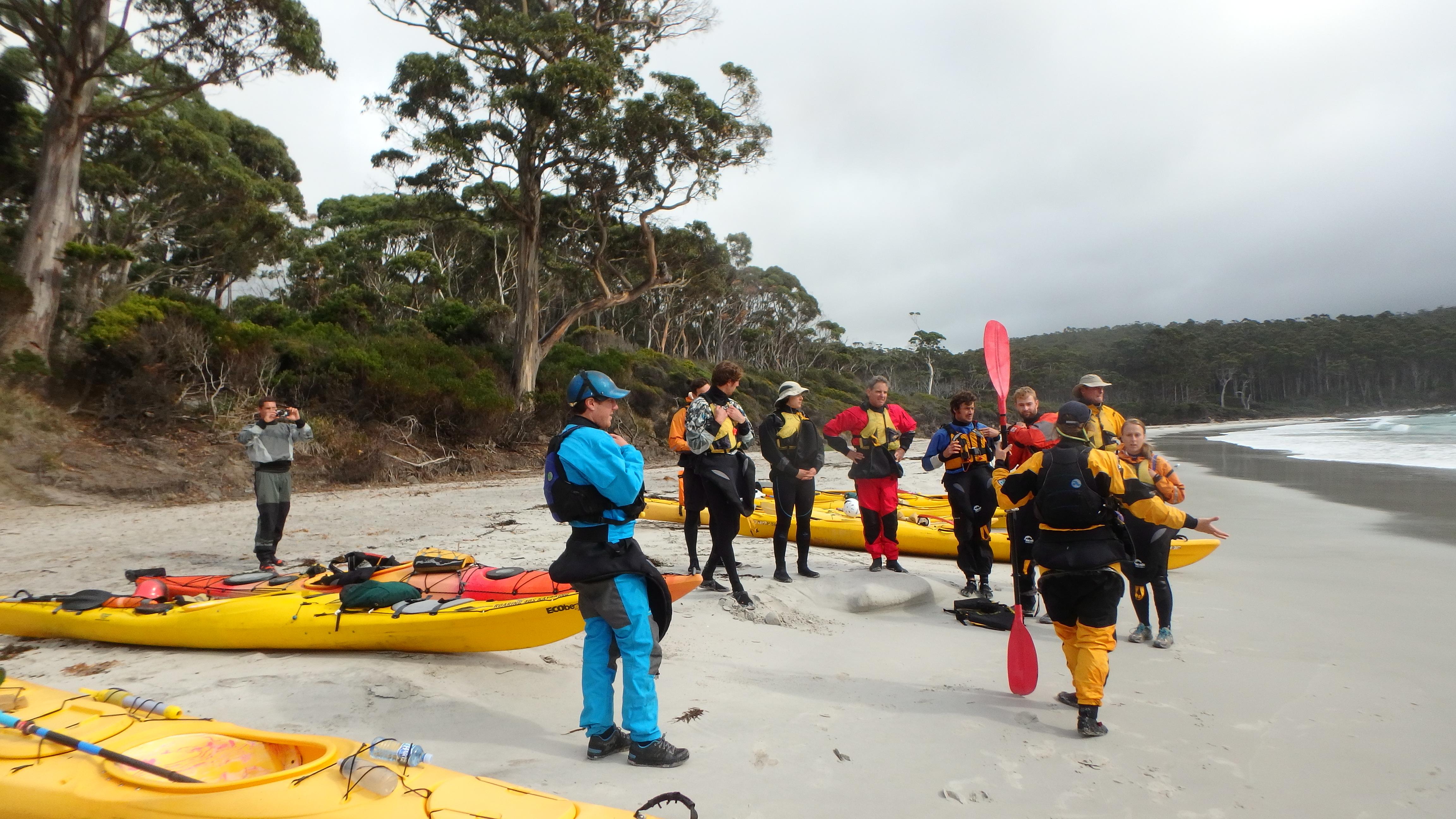 Advanced Sea Kayaking Skills Workshop
